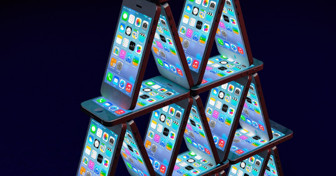 iphone stack